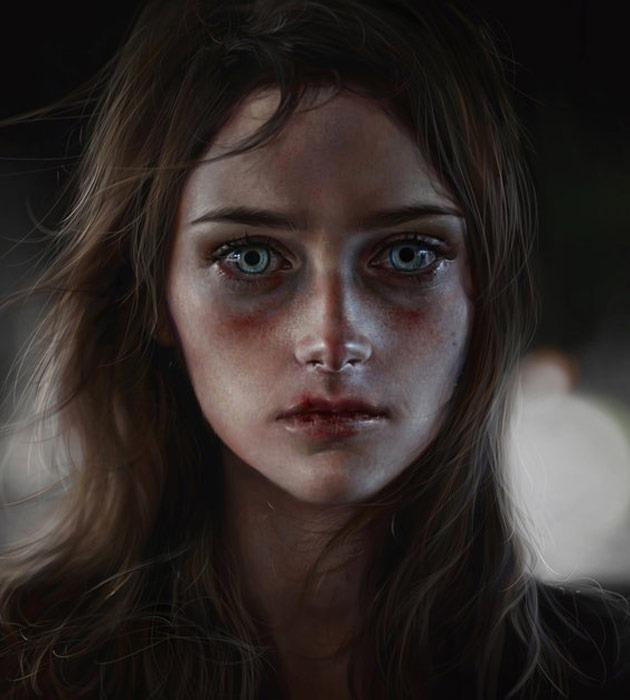 svs 25 Beautiful realistic digital art portraits