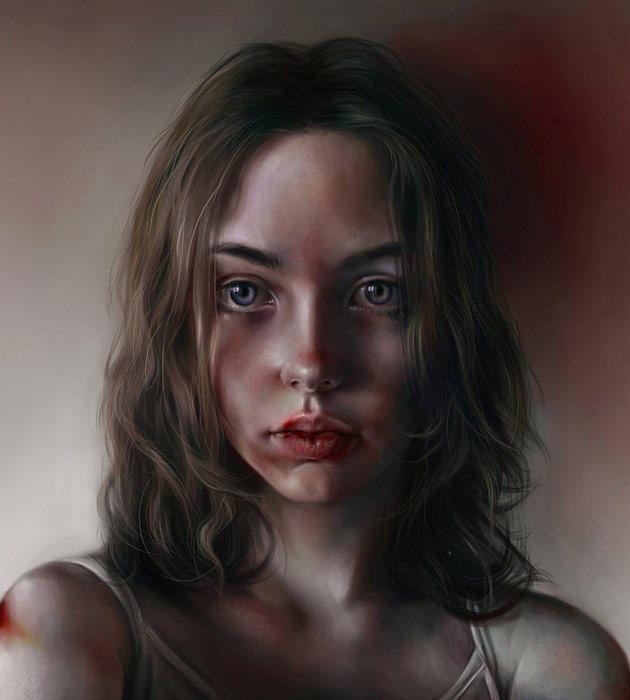 tiox 25 Beautiful realistic digital art portraits