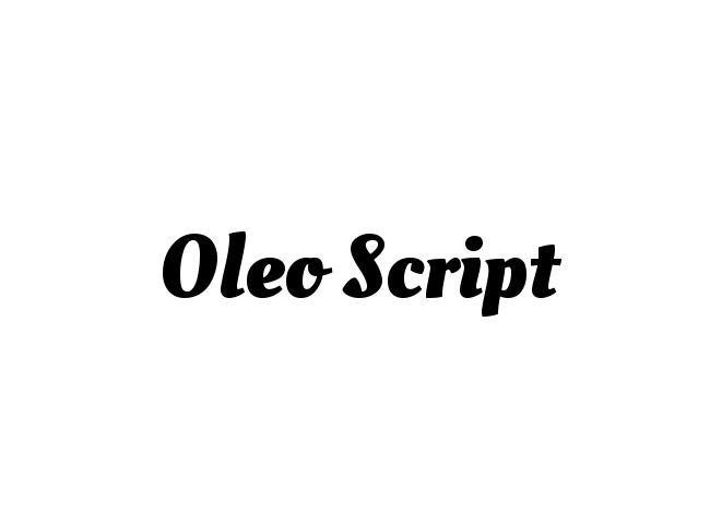 OLEO SCRIPT 50 free must download Calligraphy fonts