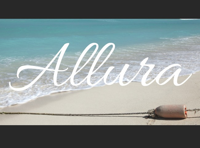 allura 50 free must download Calligraphy fonts