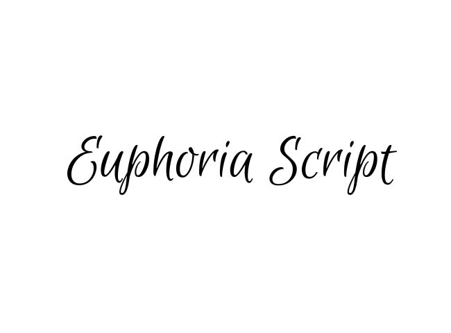 euophia 50 free must download Calligraphy fonts