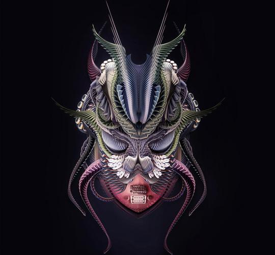 scarab Artist Design Inspiration: Nik Ainley