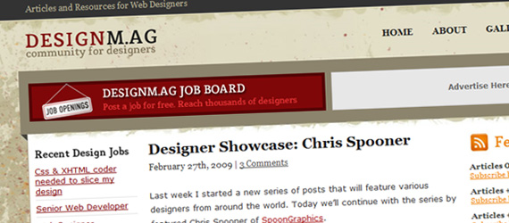 design mag1 20 Must Subscribe Graphic Design Blogs
