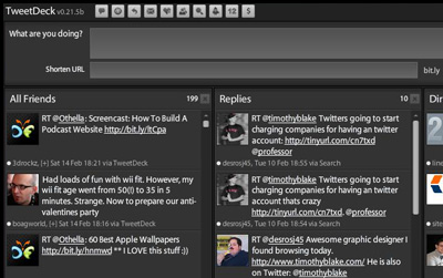 twitter deck 21 Adobe Air Apps For Designers And Social Media Addicts