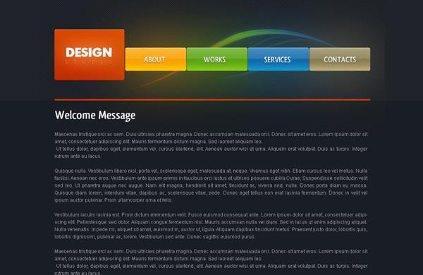 create web layout