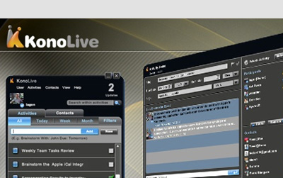 kono live 21 Adobe Air Apps For Designers And Social Media Addicts