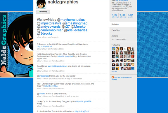 30 mind blowing inspirational twitter backgrounds creative nerds for Naldz graphics