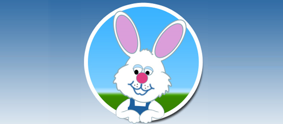 bunny rabit 30 Cool Creative Cartoon Character Tutorials