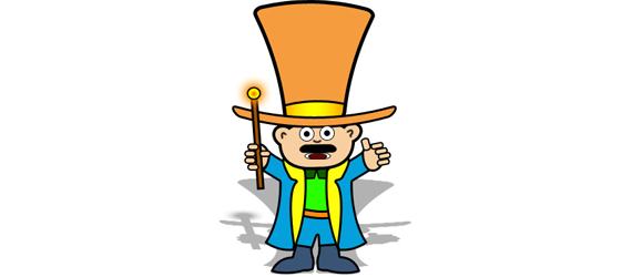 magic man 30 Cool Creative Cartoon Character Tutorials