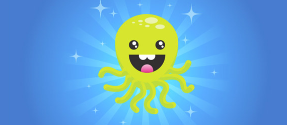 octupus 30 Cool Creative Cartoon Character Tutorials