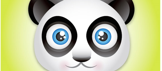 panda bear 30 Cool Creative Cartoon Character Tutorials