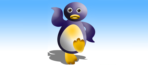 penguin 30 Cool Creative Cartoon Character Tutorials