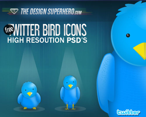 twitter bird icons Over 75+ Beautiful Twitter Design Icons