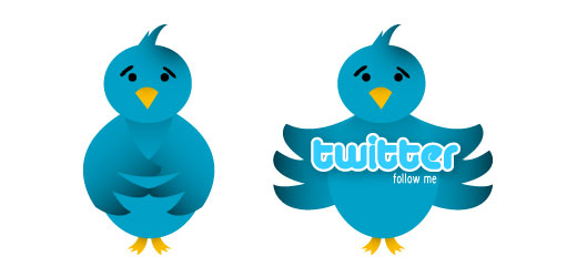 vector twitter icon Over 75+ Beautiful Twitter Design Icons