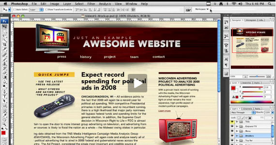awsome website css tricks 30 Tutorials On Converting A PSD To XHTML And CSS