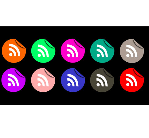 black icons  Ultimate RSS Feed Icon Collection Over 1500+