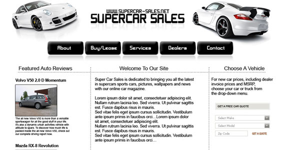 cars 30 Tutorials On Converting A PSD To XHTML And CSS