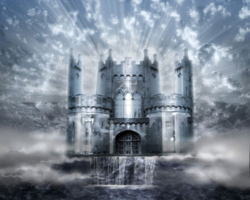 castle  26 Spectacular Surreal Magical Tutorials