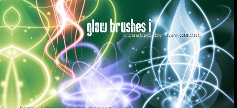 glow-brushes