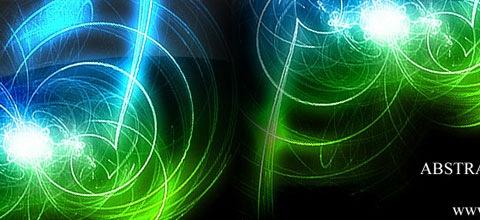 glowing-swirls