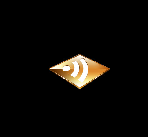 gold icon  Ultimate RSS Feed Icon Collection Over 1500+