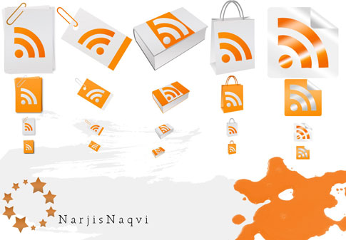 paper feed icons by narjisnaqvi2  Ultimate RSS Feed Icon Collection Over 1500+