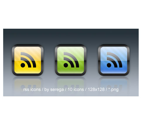 rss icons seanga  Ultimate RSS Feed Icon Collection Over 1500+
