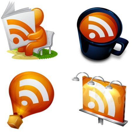 rss icons  Ultimate RSS Feed Icon Collection Over 1500+