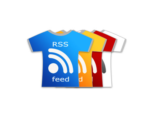rss tshirts  Ultimate RSS Feed Icon Collection Over 1500+