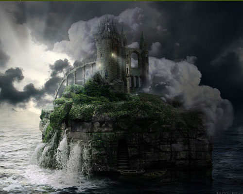 stone island  26 Spectacular Surreal Magical Tutorials