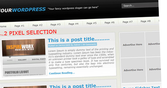 your wordpress 30 Tutorials On Converting A PSD To XHTML And CSS