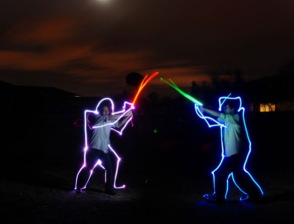 gabe 30 Awesome Examples Of Light Graffiti