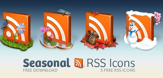 decorative seasonal rss icon pack Best Of The Web July For Web/Graphic Design