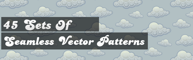 image1121 45 Sets of Seamless Vector Patterns
