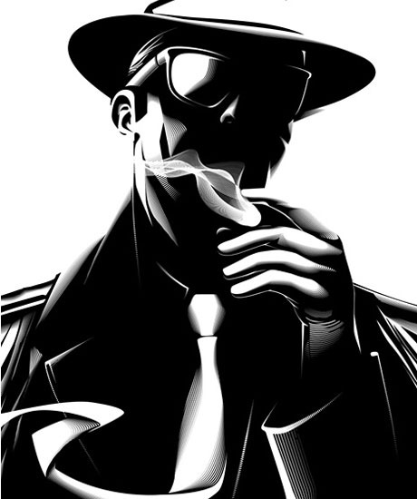 gangstervectorinspiration 25 Amazing Inspirational Vector Illustrations