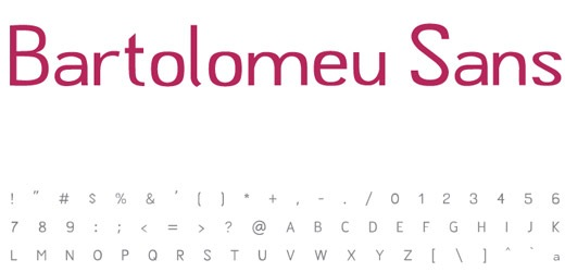 bartolmeu 30 Free Fonts Which Are Perfect For Professional Logo Designs