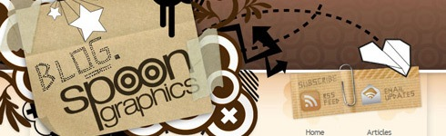 blogspoongraphics Interview With Chris Spooner from Blog Spoon Graphics