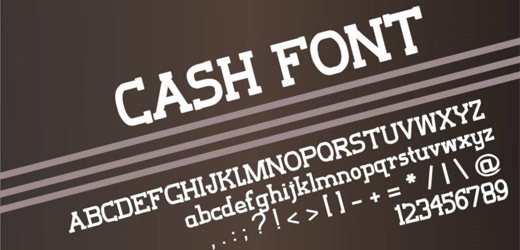 cashfont 30 Free Fonts Which Are Perfect For Professional Logo Designs