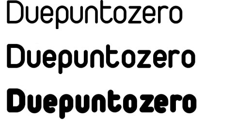 duepuntozero 30 Free Fonts Which Are Perfect For Professional Logo Designs