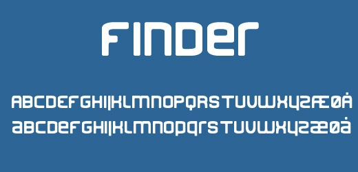 finder 30 Free Fonts Which Are Perfect For Professional Logo Designs