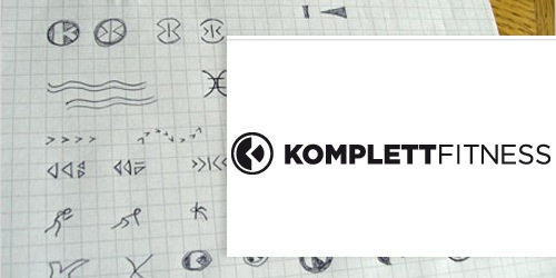 kompletefittness 30 Professional Logo Design Processes Revealed