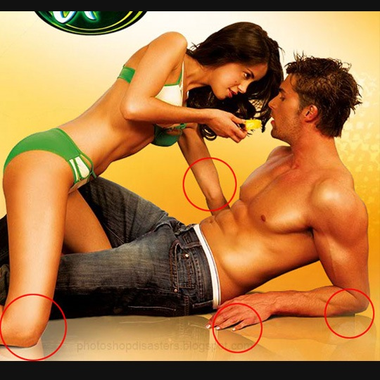 ladyhands 30 Horrific Commercial Photoshop Disasters