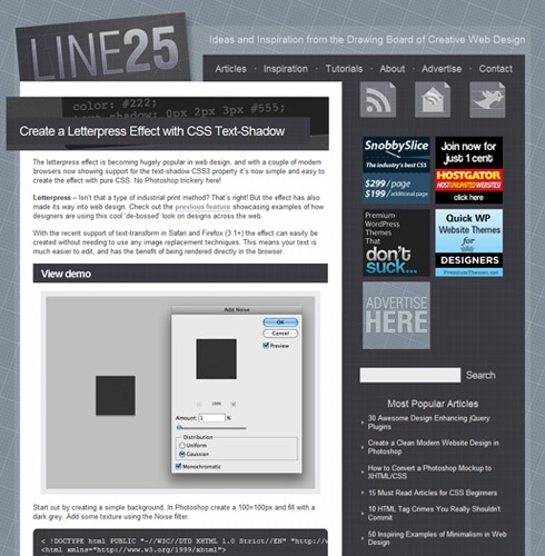line25 Interview With Chris Spooner from Blog Spoon Graphics