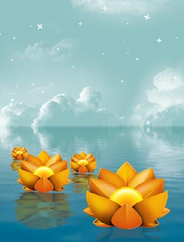 floatingfloralposter 50 Photoshop Tutorials For Creating Poster Designs