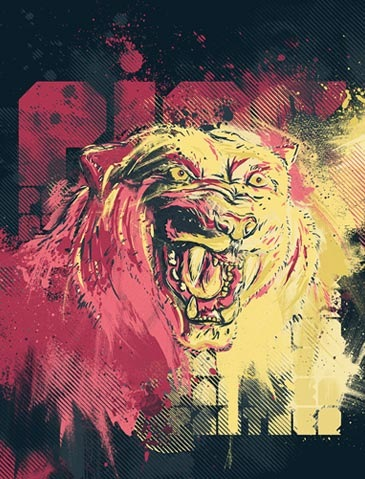 pinkpanther 50 Photoshop Tutorials For Creating Poster Designs