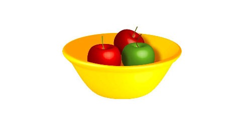 3d-apples