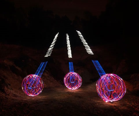 ballsdownhill A Collection Of Beautiful Light Paintings
