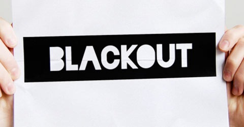 blackout 50 Best Free Fonts From 2009