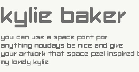 kyliebaker 50 Best Free Fonts From 2009