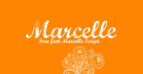 marcelle 50 Best Free Fonts From 2009
